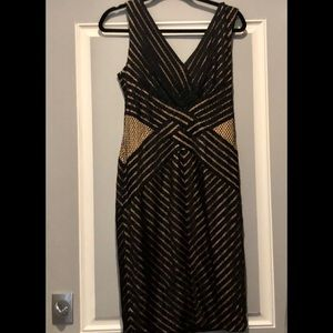 Tadashi Shoji Sleeveless Boston Dress SIZE M